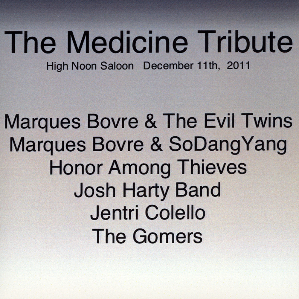 The Medicine Tribute – 2012