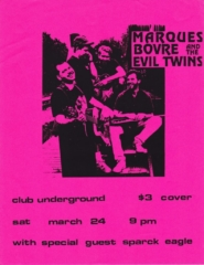 Marques Bovre and the Evil Twins, March 24, 1990