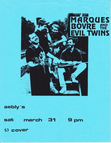 Marques Bovre and the Evil Twins, March 31, 1990