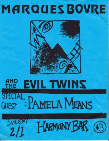 Marques Bovre and the Evil Twins, February 1, 1992