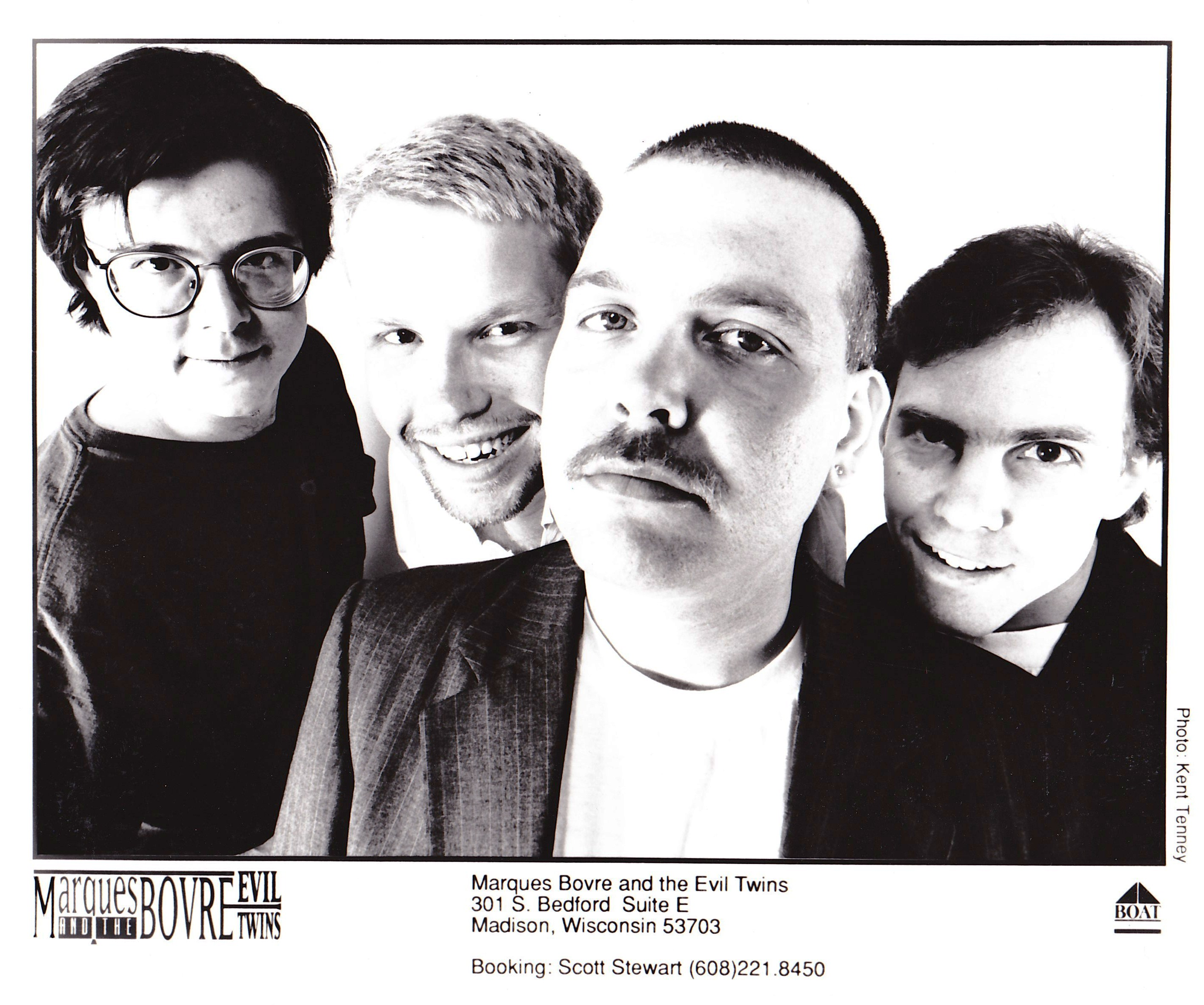1992 press promo (photo by Kent Tenney)