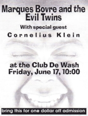 Marques Bovre and the Evil Twins, June 17, 1994