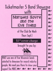 Marques Bovre and the Evil Twins, September 1, 1994