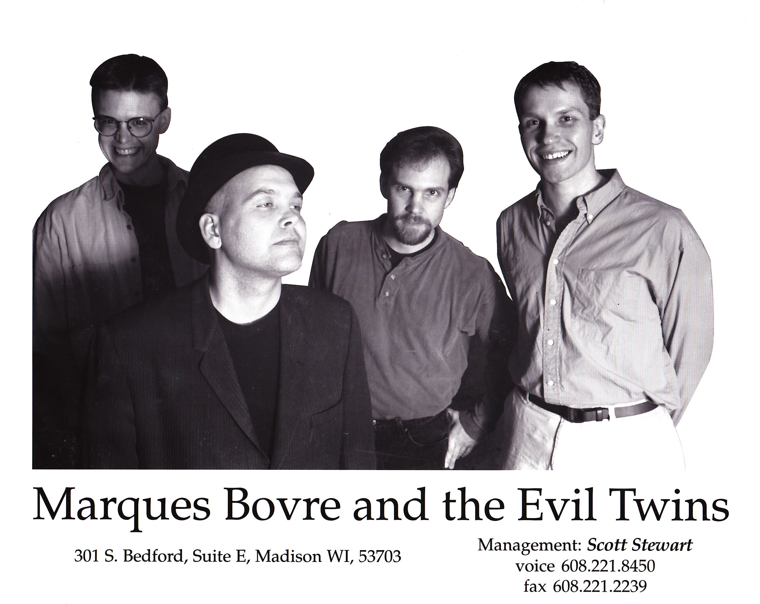 1996 press promo (photo by Kent Tenney)