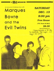 Marques Bovre and the Evil Twins, December 13, 1997