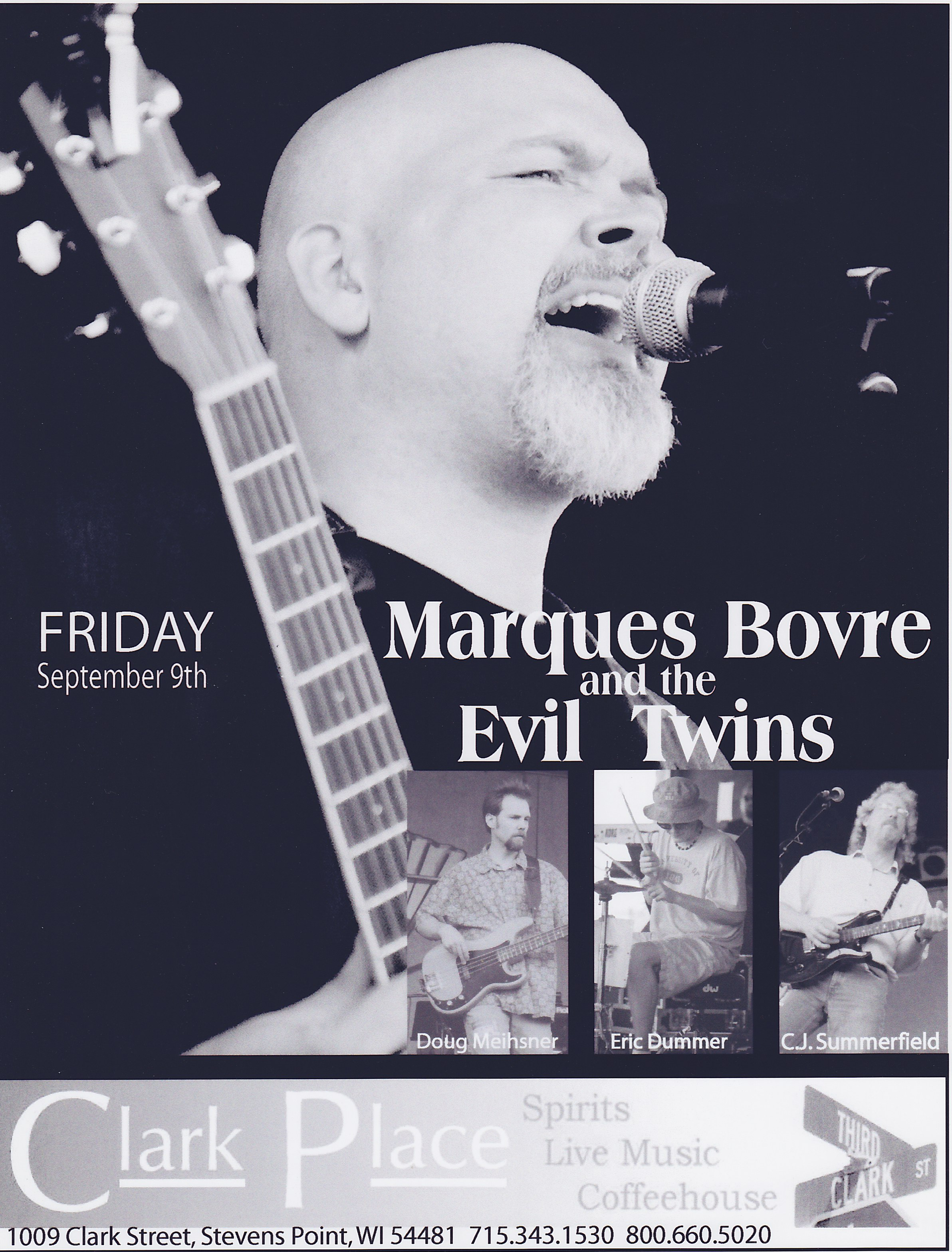 Marques Bovre and the Evil Twins, September 9, 2005