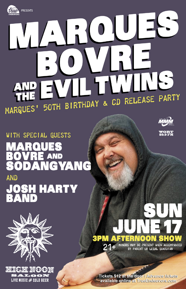 Marques Bovre 50th Birthday, June 17, 2012